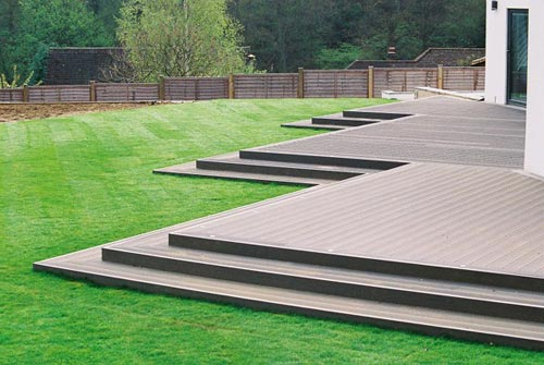 Garden and patio decking gallery decking design a for Garden decking quotes uk